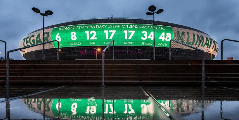Zegar Klimatyczny na Dzień Ziemi. W Krakowie ruszyło wielkie odliczanie