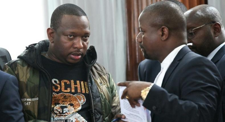 List of 12 high profile Lawyers Sonko has hired to represent him