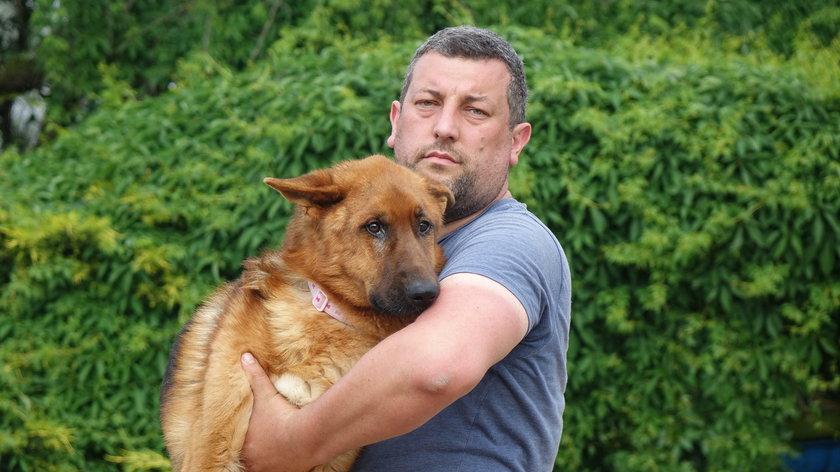 Grzegorz Bielawski (42 l.)z pogotowia dla zwierząt
