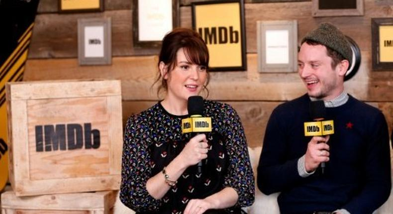 Co-stars Melanie Lynskey and Elijah Wood at the Sundance Film Festival, where I Don't Feel At Home In This World Anymore took top prizeFeaturing The Filmmaker Discovery Lounge, Presented By Amazon Video Direct: Day One - 2017 Park City
