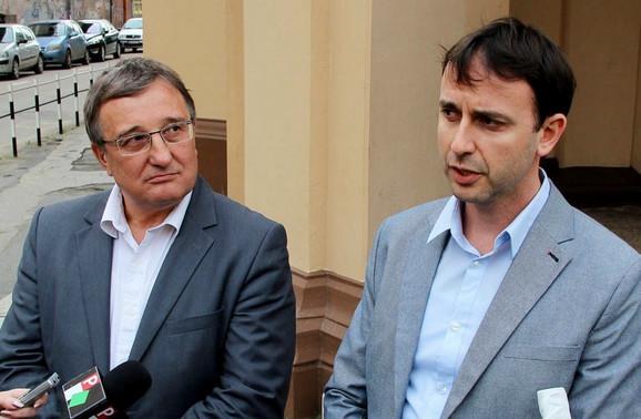 Mihalj Njilaš i Nenad Mirkov