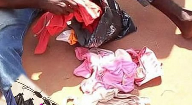 Teenager nabbed for stealing female pants in Ogun