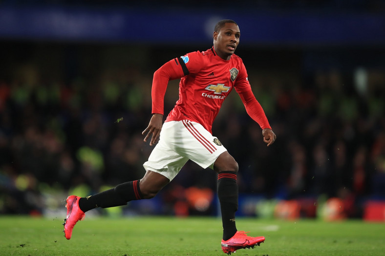 Odion Ighalo made his debut for Manchester United against Chelsea on Monday night  (Getty Images)