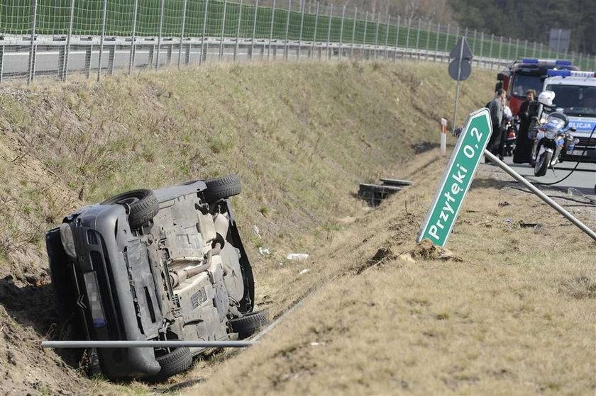 3 motocyklistów nie żyje. Straszny wypadek w Zielonce