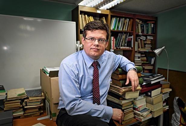 Krystian Markiewicz - sędzia Sądu Okręgowego i prezes Stowarzyszenia Sędziów Polskich Iustitia