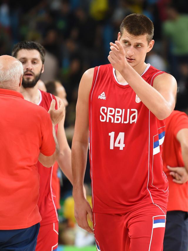 Nikola Jokić u dresu Srbije na Olimpijskim igrama u Rio de Žaneiru 2016.