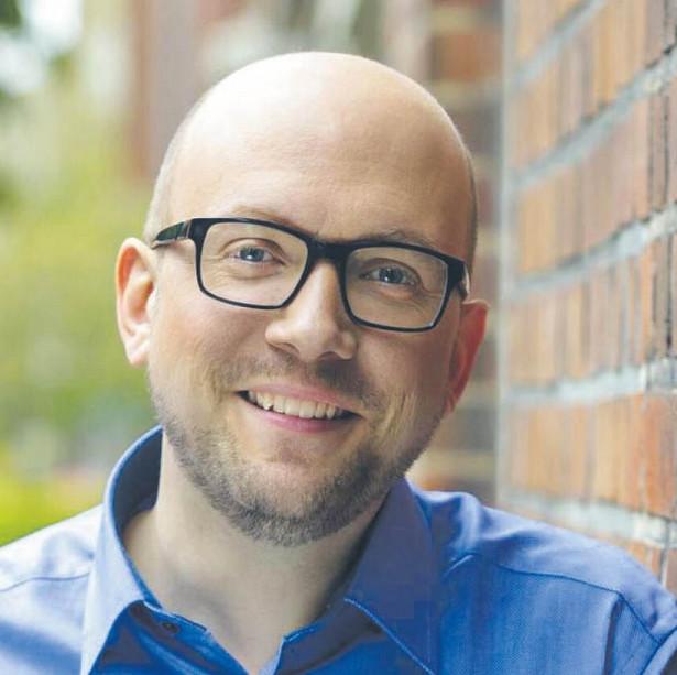 Manuel Sarrazin, poseł Zielonych w niemieckim Bundestagu. Fot. Rainer Kurzeder/mat. prasowe