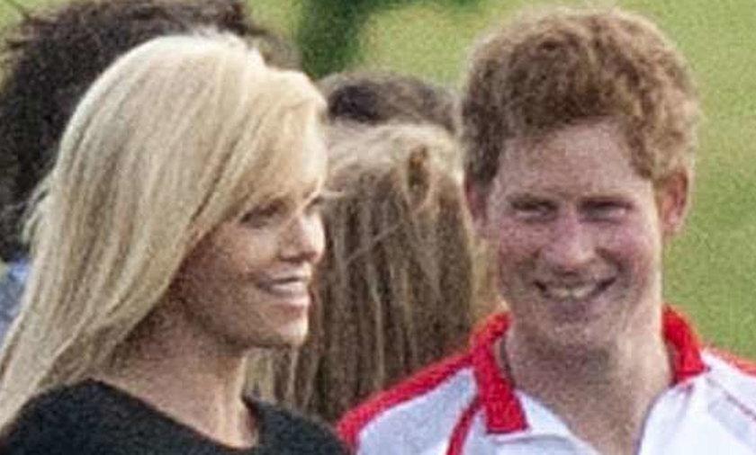 Książę Harry podrywa aktorkę