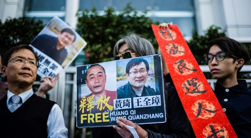 Chinese human rights lawyer released but unable to see family