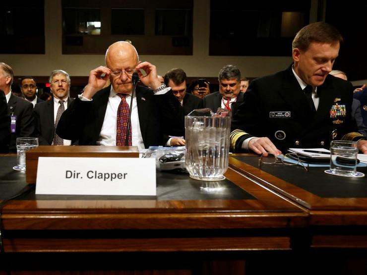 SAD, Senat, Obaveštajne službe, Saslušanje, Džejms Klaper