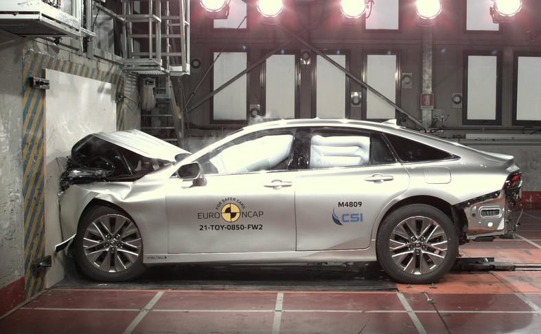 Toyota Mirai II i test zderzeniowy Euro NCAP