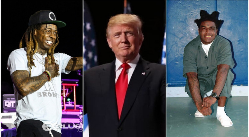 Lil Wayne and Kodak Black granted pardon on Trump's final day in office