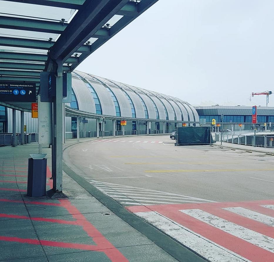 A Liszt Ferenc reptér sosem volt még ennyi-re néptelen.