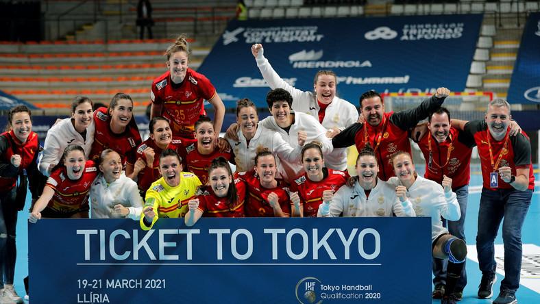 Piłkarki ręczne z Hiszpanii zagrają w igrzyskach w Tokio