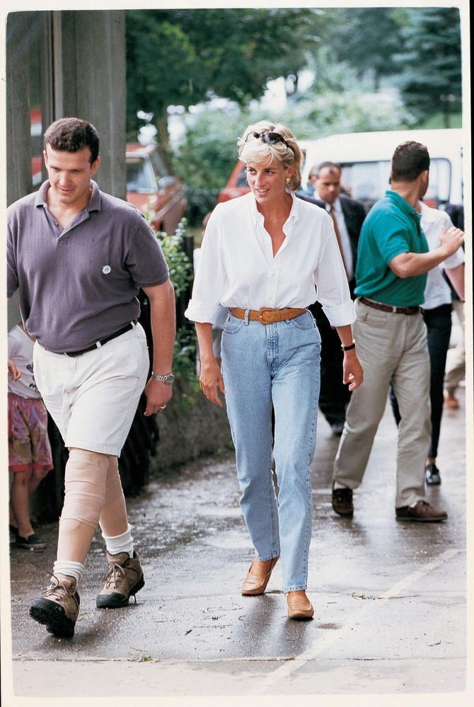 Princeza Dajana u poseti Bosni i Hercegovini