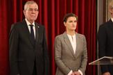 Ana Brnabić Aleksander Van der Belen TANJUG - VLADA REPUBLIKE SRBIJE, SLOBODAN MILJEVIC