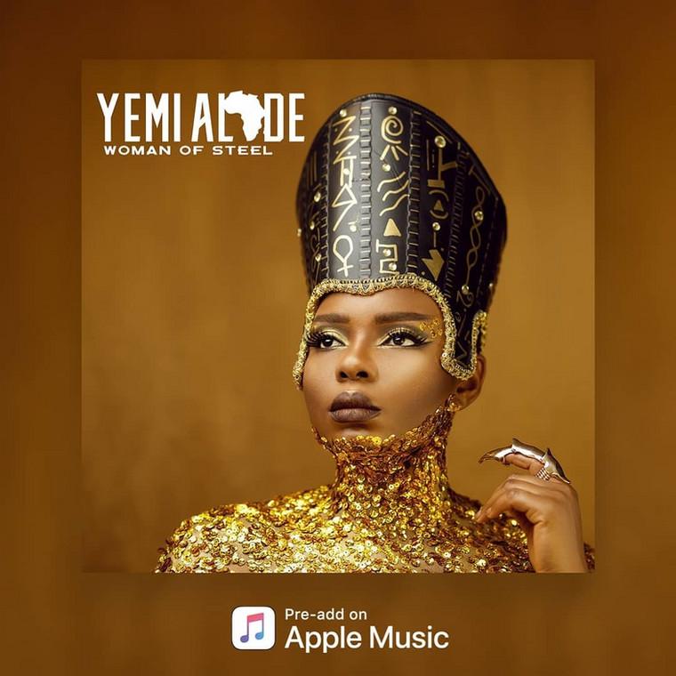 Yemi Alade to release her album, 'Woman of Steel' next week. (Instagram/YemiAlade)