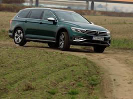 Volkswagen Passat Variant Alltrack  – SUV w nadwoziu kombi