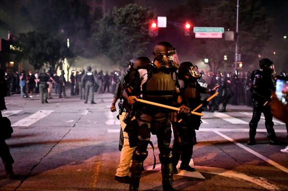 Nasilni protesti u Atlanti