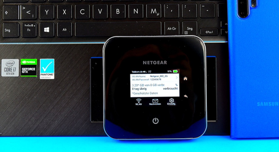 Netgear Nighthawk M2: LTE-Router mit Akku im Test