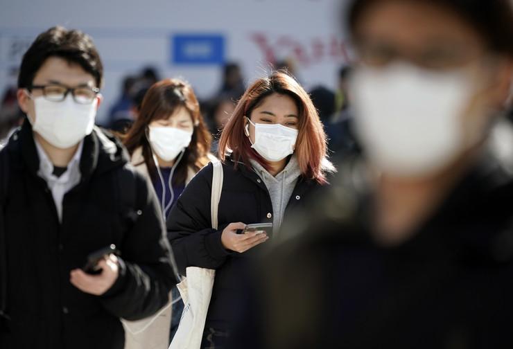 Japan koronavirus foto epa franck robichon