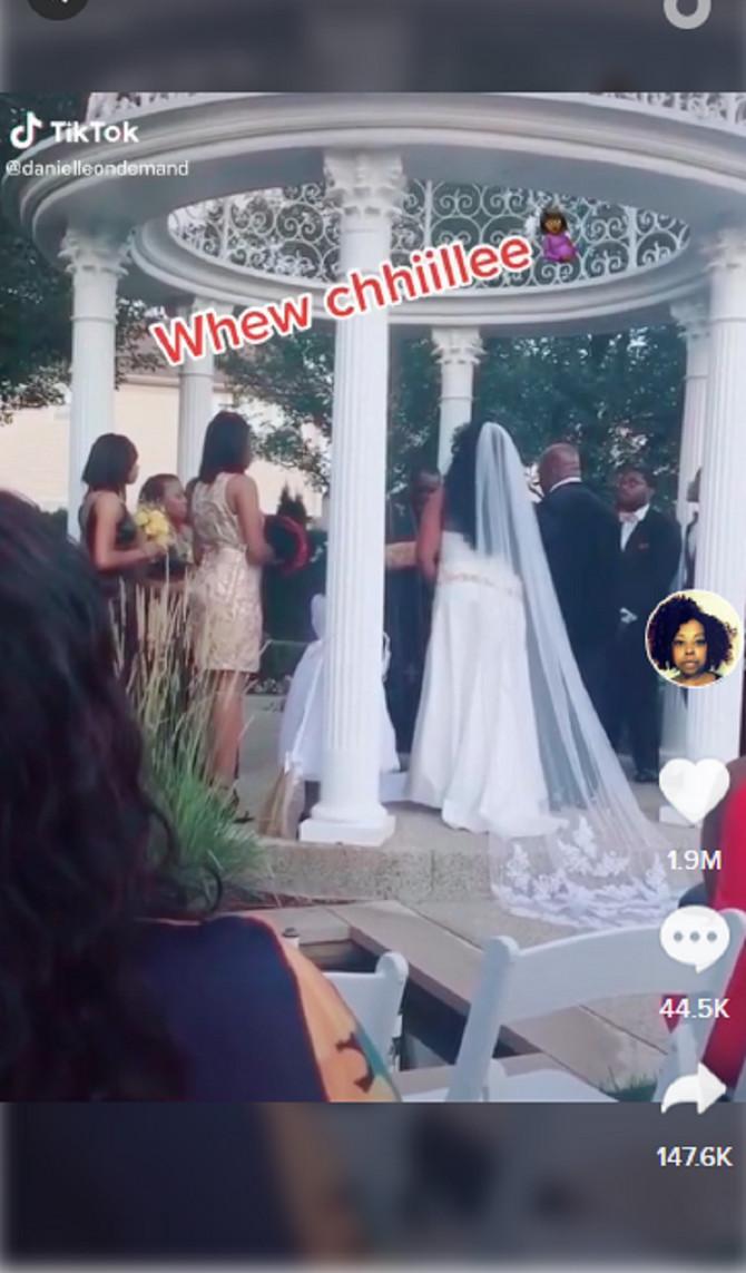Skandal na venčanju u Detroitu