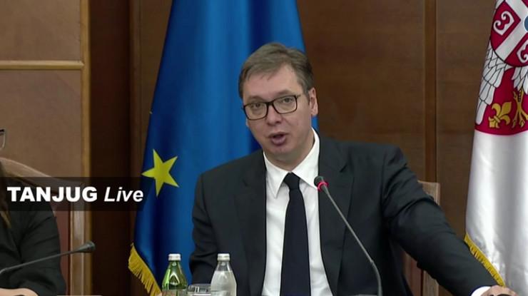 vucic sednica Nacionalnog konventa o EU