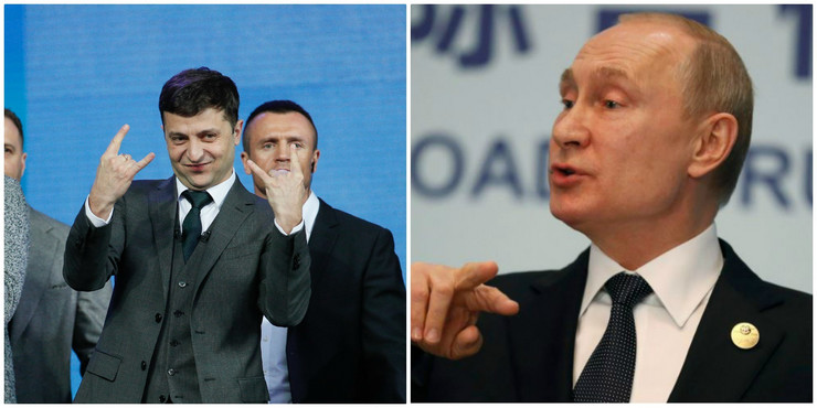 Zelenski i Putin EPA AP