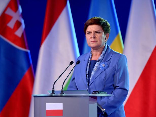 500 plus to sztandarowy program rządu Beaty Szydło