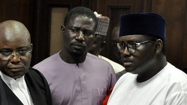 Image result for COURT ADJOURNS ABDULRASHEED MAINA'S TRIAL UNTIL JANUARY 2020