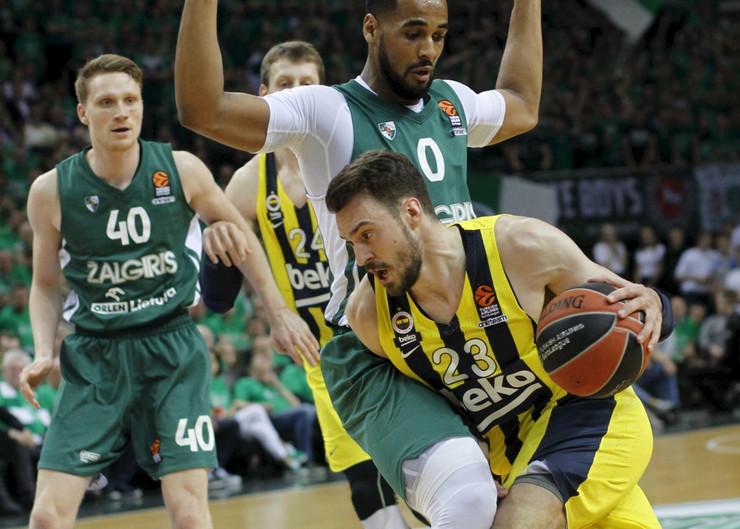 KK Žalgiris, KK Fenerbahče