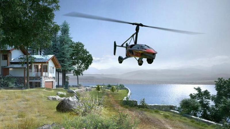 PAL-V - latający samochód już w sprzedaży