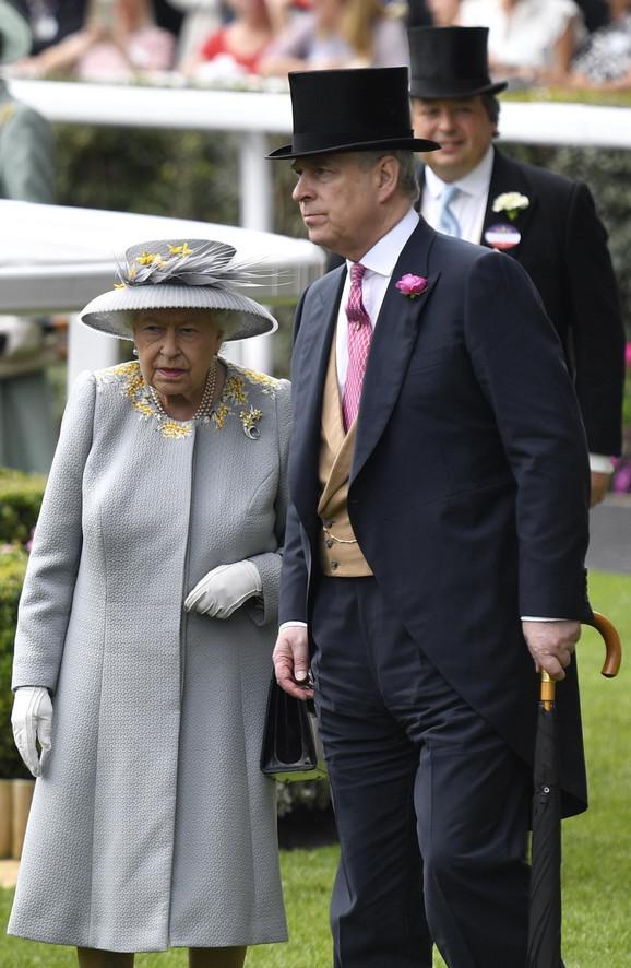 Kraljica i princ Endru