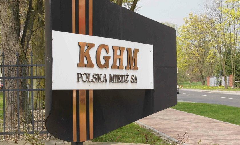 """""""Dojna zmiana"""" w KGHM"""