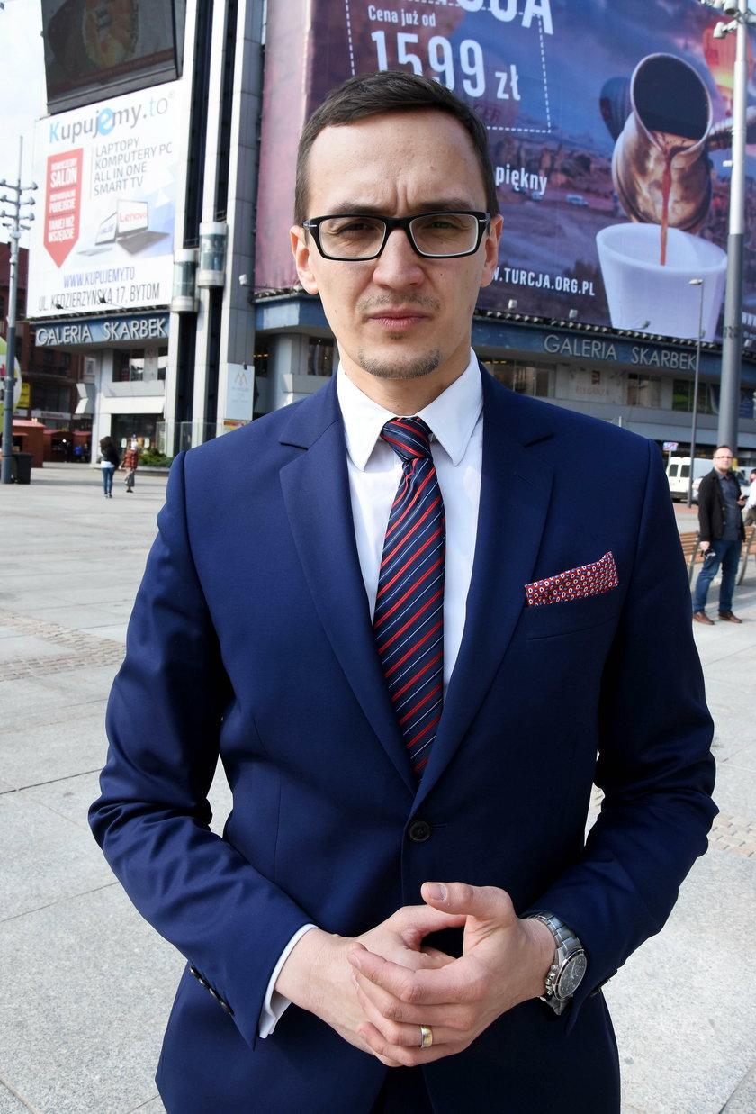 Maciej Stachura, naczelnik wydziału komunikacji spełecznej