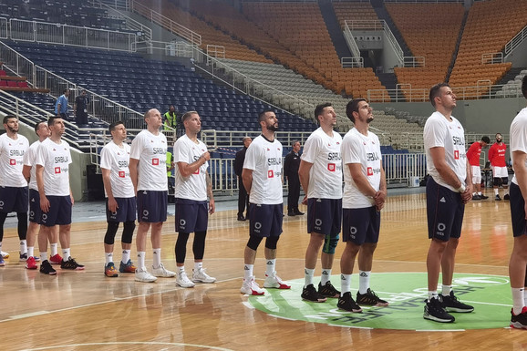 """Pobeda """"orlova"""" za početak! Srbija bolja od Portorika na Akropolis kupu, SJAJNA PARTIJA Filipa Petruševa!"""