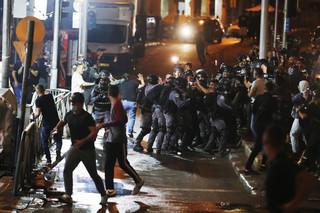 Jerozolima: Setki rannych po starciach Palestyńczyków z policją