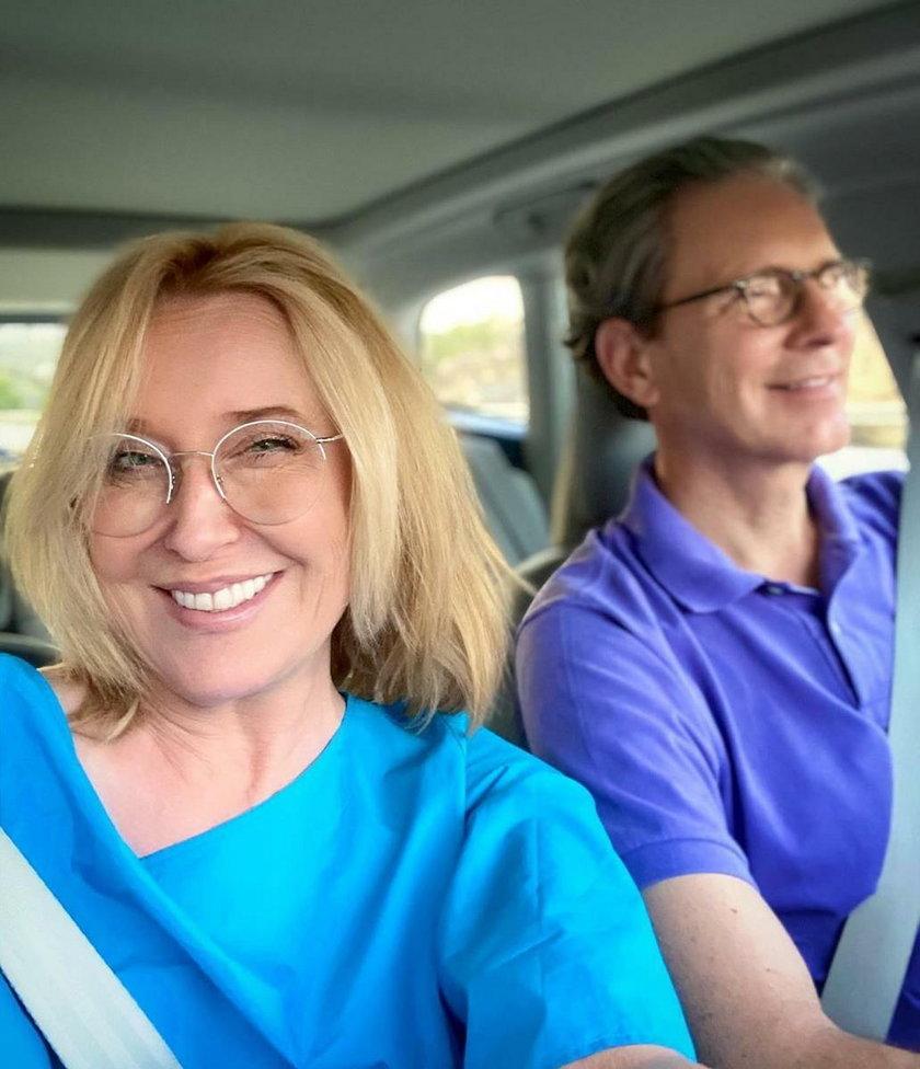 Agata Młynarska z mężem wyruszyli w podróż