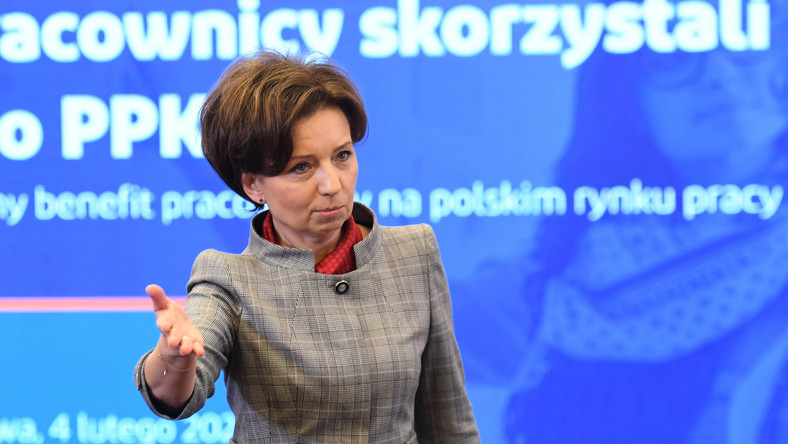 Minister pracy Marlena Maląg