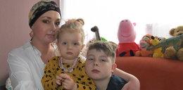 """Poruszająca historia matki dwójki dzieci. Ciężko choruje, ale nie poddaje się: Pragnę żyć dla moich """"bakłażanków""""!"""