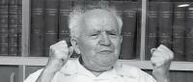 """""""Ben Gurion. Żywot polityczny. Z Szimonem Peresem rozmawia David Landau"""""""