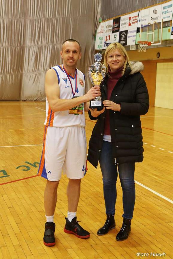 Ana Joković i košarkaš Zlatibora Ivan Tmušić