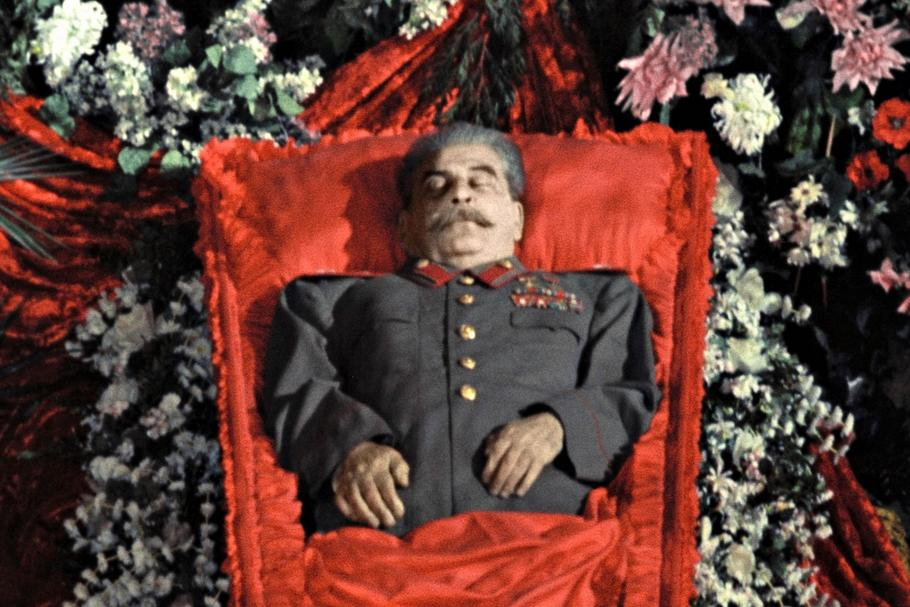 Paying last respects to Josef Stalin