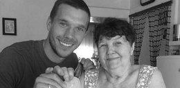 Zmarła babcia Podolskiego. Piłkarz opublikował wzruszający wpis