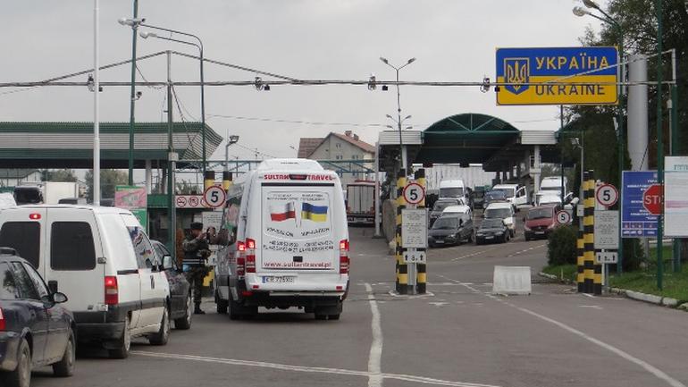 Przejście graniczne z Ukrainą