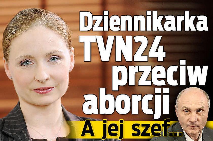 Dziennikarka TVN