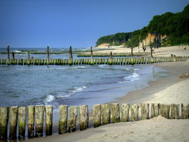 Plaża w Dźwirzynie