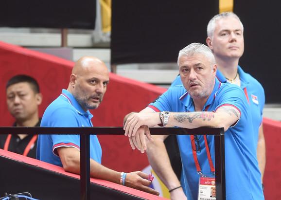 Aleksandar Đorđević, Predrag Danilović i Dejan Tomašević