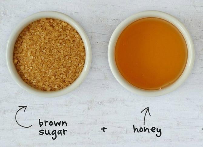 Piling od meda i šećera je dobra ideja za kućnu negu