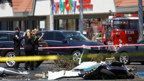 Niewielki samolot spadł na parking w Kalifornii. Zginęło 5 osób